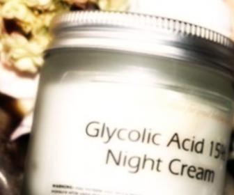 Ácido glicólico para el cuerpo