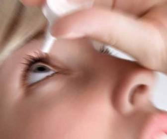 gotas de antibiótico para los ojos