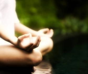 Pierde peso con la meditación