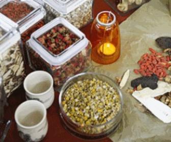 Hierbas medicinales para uso externo.