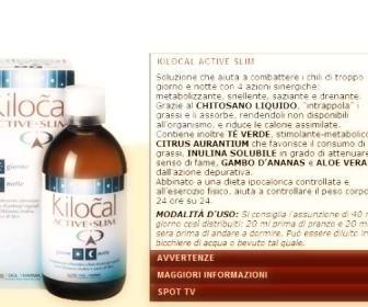 Kilocal active slim: ¿funciona kilocal active slim 500 ml?