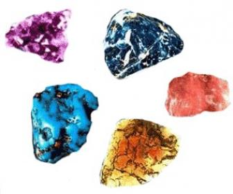 Cargue los cristales en la terapia con cristales