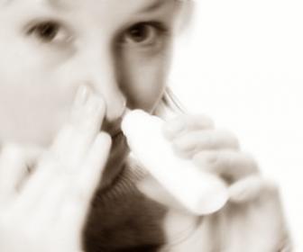 Nariz tapada: secreción nasal