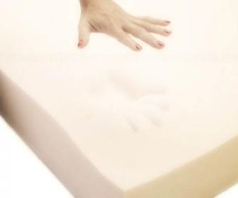 Celulitis efecto piel sobre un colchón