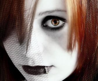 Maquillaje gótico - Maquillaje gótico