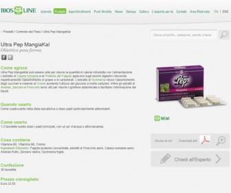 Ultra Pep MangiaKal: ¿cómo funciona?